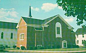 Salisbury Maryland Grace Methodist Church Postcard P40848 (Image1)