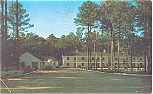Whispering Pines Motel, Accomac VA Postcard (Image1)