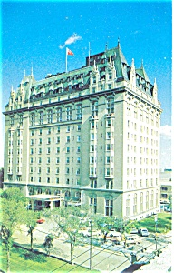 Fort Garry Hotel Winninpeg MB Canada Postcard (Image1)