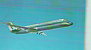 Eastern Airlines DC-9-51 in Flight Postcard P41057 (Image1)