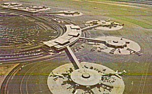 Newark New Jersey International Airport Postcard P41059