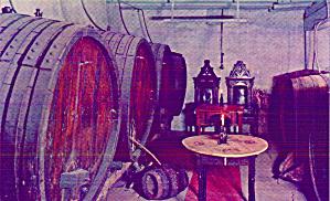 Virginia City Montana Brewery Interior Postcard P41094 (Image1)