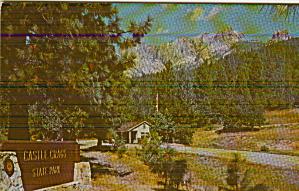 Castle Craigs State Park Castella California Postcard P41143 (Image1)