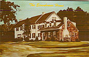 Gettysburg Pennsyvania Eisenhower Home Postcard P41158 (Image1)