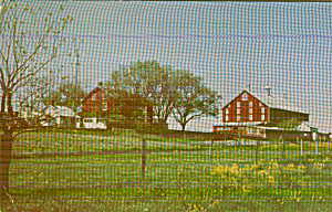 Gettysburg Pennsyvania Eisenhower Farm Countryside P41166 (Image1)
