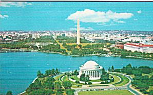 Washington DC Jefferson Memorial Postcard P41183 (Image1)