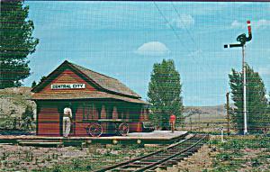 Alder Gulch Short Line Mile Post 7 Between Nevada City Virginia City p41225 (Image1)