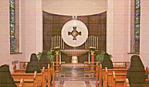 Mishawaka Indiana Perpetual Adoration Chapel Postcard P41249 (Image1)