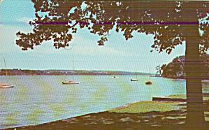 Skaneateles Lake New York Finger Lakes Postcard P41289 (Image1)