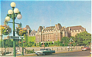 Empress Hotel Victoria BC Canada Postcard (Image1)