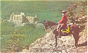 Banff Springs Hotel Alberta Canada Postcard (Image1)