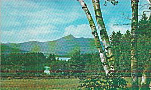 Mt Chocorus New Hampshire Lake and Mt Chocorus P41309 (Image1)