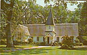 Frederica St Simons Island Georgia Christ Church  Methodist P41316 (Image1)