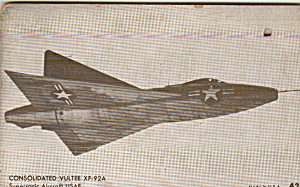 Consolidated Vultee Xf92a Supersonic Aircraft Usafp41323