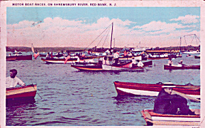 Red Bar New Jersey Motor Boat Races Shrewsbury River P41353 (Image1)
