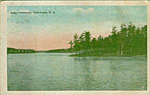 Lake Carasaljo Lakewood New Jersey Postcard P41357 (Image1)