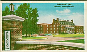 Shenango Inn Sharon Pennsylvania Postcard Envelope P41395 (Image1)