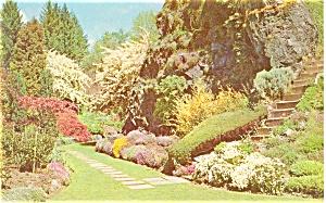 Butchart Gardens Victoria B.C.Canada Postcard (Image1)