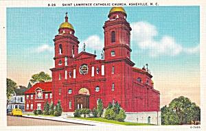 Asheville North Carolina Saint Lawrence Catholic Church P41432F (Image1)