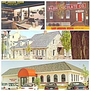 Lititz PA Wilbur Chocolate  Restaurant   House  PA017 (Image1)