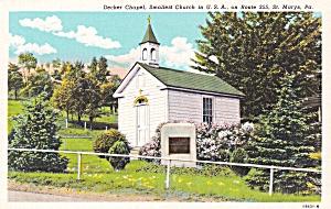 St Marys Pennsylvania Roman Catholic Chapel World s Smallest Church P41438F (Image1)