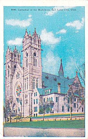 Salt Lake City Cathedral of the Madeleine Roman Catholic P41441F (Image1)