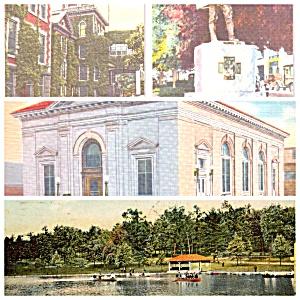 Shamokin PA Lake Hospital Post Office Monument Lot of Four PA033 (Image1)