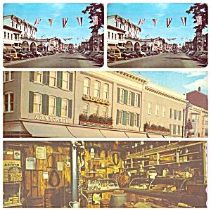 Stroudsburg PA Main Street  AB Wycoff Store PA035 (Image1)