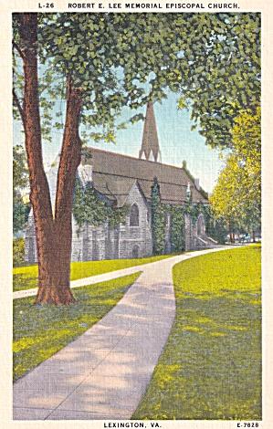 Lexington VA Washington and Lee University Robert Lee Memorial Chapel P41465F (Image1)