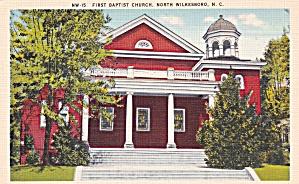 North Wilesboro NC First Baptist Church P41506F (Image1)