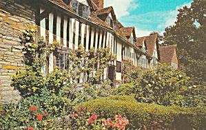 Stratford on Avon UK Mary Arden's House Wilmcote Postcard P41515F (Image1)