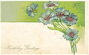 Vintage Birthday  Postcard p4163 (Image1)