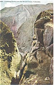 Royal Gorge Colorado Postcard p4169 (Image1)