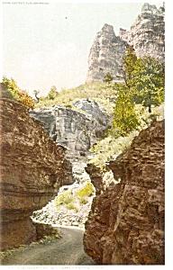 The Narrows Williams Canyon CO Postcard p4236 (Image1)
