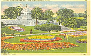 Conservatory Golden Gate Park San Francisco Ca Postcard P4253
