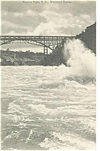 Niagara Falls Whirlpool Rapids Postcard (Image1)