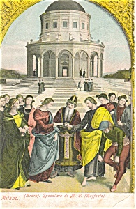 Milan Italy Postcard (Image1)