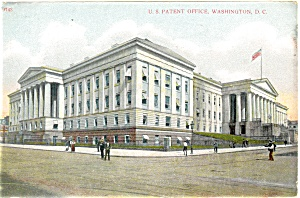 US Patent Office Washington DC Postcard (Image1)
