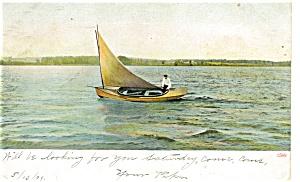 Sailing Postcard p4324 (Image1)