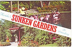 Sunken Gardens Souvenir Folder p4330 (Image1)