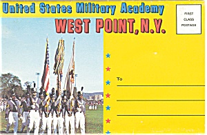 West Point Ny Souvenir Folder Postcard