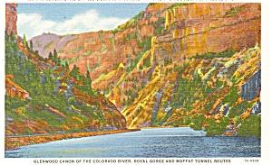 Rio Grande Railroad Postcard p4355 (Image1)