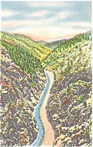 Big Thompson Canyon CO Postcard p4360 (Image1)