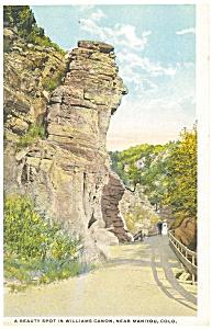 Williams Canyon Manitou CO Postcard p4370 (Image1)