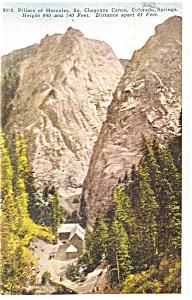 Pillars of Hercules CO Postcard p4373 1926 (Image1)