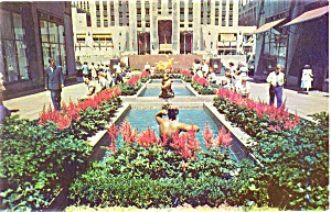 Rockerfeller Center New York Postcard (Image1)