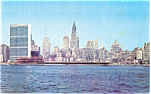 United Nations Building New York City Postcard  (Image1)