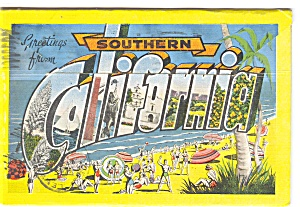 Southern California Souvenir Folder