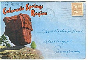 Colorado Springs Region Souvenir Folder