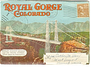 Royal Gorge Colorado Souvenir Folder